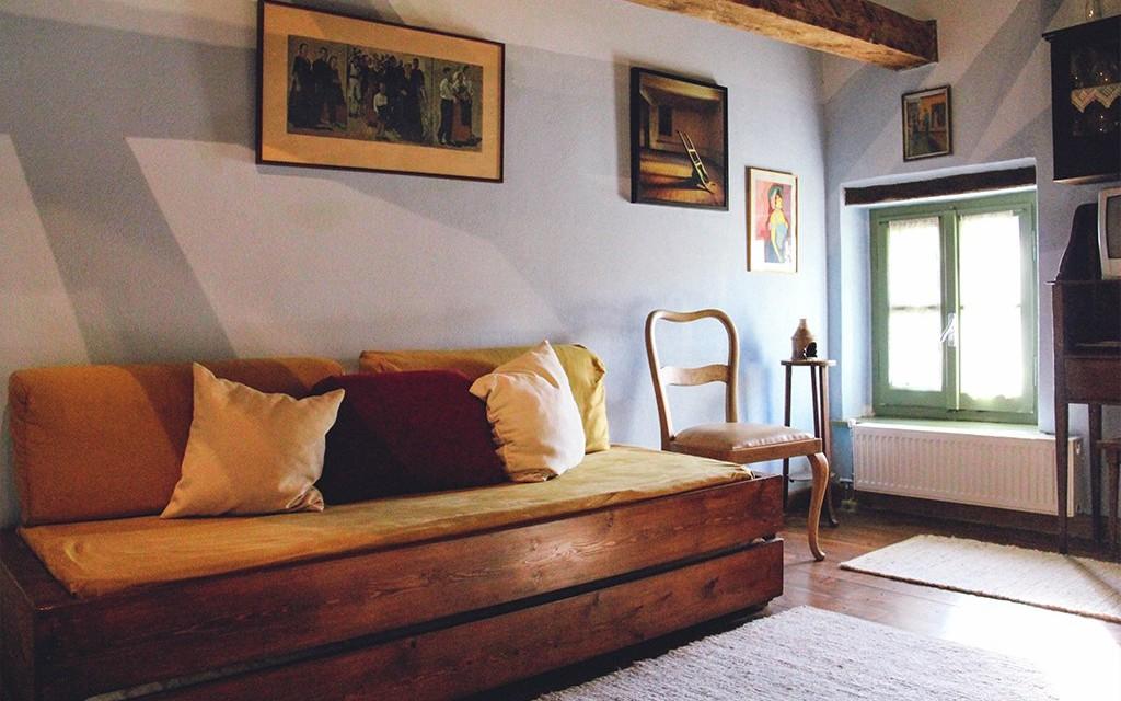Εφιποι Πινακατες Πηλιου Παραδοσιακοι Ξενωνες Κιτρινο Δωματιο